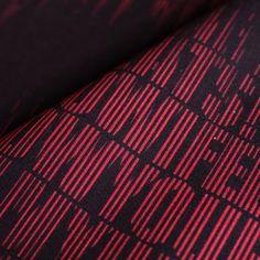 モダンデザインのインテリアファブリック/Heart Beat/SP FABRIC × RECORDS Heart Beat, In A Heartbeat, Beats, Fabric, Tejido, Tela, Cloths, Fabrics, Tejidos
