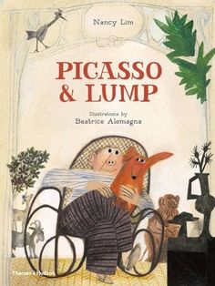 Picasso and Lump: Cake on a Plate // By Nancy Lim // Illustrator Beatrice Alemagna Picasso, Illustration Inspiration, Children's Book Illustration, Buch Design, Children's Picture Books, Children's Literature, Illustrations And Posters, Book Cover Design, Graphic