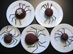 Halloween Party Food  - more spiders!! eek!!!