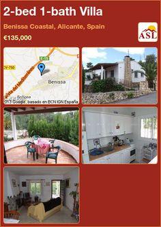2-bed 1-bath Villa in Benissa Coastal, Alicante, Spain ►€135,000 #PropertyForSaleInSpain
