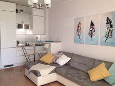 Маленькая квартира-студия. Интерьер.