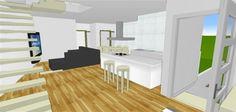 Living 3D plan