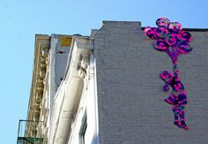 Yarn Bombing: Guerilla Knitters & Granny Graffiti Cover Cities With Crochet