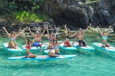 St Thomas Stand-Up Paddleboard Yoga SUP Yoga VIhas combined stand up paddle boarding and yoga to bring you back to breath, movement and presence, not only on the floating mat but in your everyday life. SUP Yoga will tone your core, build your stability and provide you with a fun learning environment to play and experience total freedom with your practice outside the studio. With our resident sea turtle, Frederick, popping up to say hello, you are sure to never forget the blis...