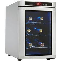 Danby Maitre'D 6 Bottle Countertop Wine Cooler - Platinum : Sears Outlet