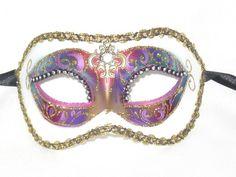 Venetian Masquerade Masks, Masquerade Costumes, Mardi Gras Party, Carnival, Venice, Blue, Beauty, Beautiful, Arch