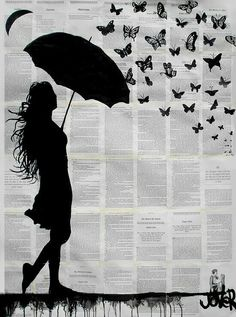Con mariposas by Jover