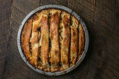 Apple-Pear Pie with Raisins, Pecans & Fennel Seeds