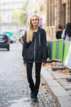 hoodie, like every single day style