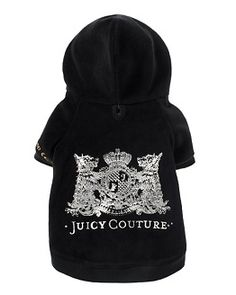 awww juicy couture doggy sweater :)