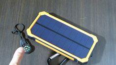 PowerBank Tollcuudda с солнечной батареей