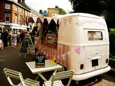 Find out how one couple turned a beat up VW van into this neapolitan ice cream dream. #Tinkernation