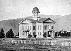 State Capital of Nevada, down town Carson City.