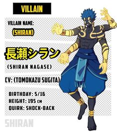 Villain Names, Hero Academia Characters, Fictional Characters, Superhero Design, Adidas Outfit, Anime Oc, Mega Man, Boku No Hero Academia, Character Design