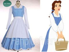 Disney Beauty and the Beast Disney Cosplay,Belle 3pcs Outfit (C00192)  AHH! I need this! or I need to figure out a pattern and have someone make it for me cause I cant justify spending 120 bucks on this right now :(