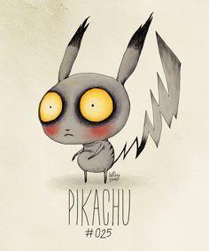 Top 15 des Pokémons version Tim Burton, pas kawai du tout