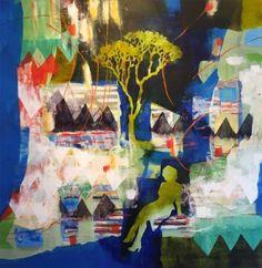 """Saatchi Art Artist Randi Antonsen; Painting, """"girl from the north"""" #art"""