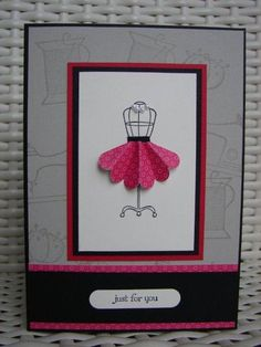 Stampin Up! Too cute!