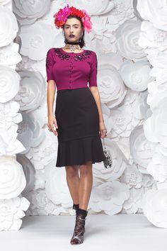 MAIN: 100% VISCOSE Waist Skirt, High Waisted Skirt, Work Wardrobe, New Work, Skirts, Cute, Vintage, Style, Fashion