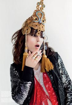 Noomi Rapace by Magnus Magnusson for Contributor Magazine, Issue 5
