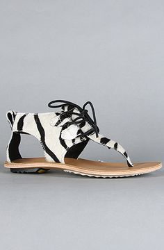Sorel the summer boot sandal in zebra pony hair karmaloop com
