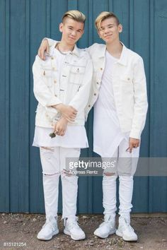 Pop singers Marcus & Martinus pose for a portrait session before honouring Crown Princess Victoria on the ocassion of her birthday at Victoriagarden on July 2017 in Borgholm, Sweden. Get premium, high resolution news photos at Getty Images Still Image, Image Now, Sites Like Youtube, Crown Princess Victoria, Pop Singers, Portrait, Handsome Boys, Image Collection, Photo Sessions