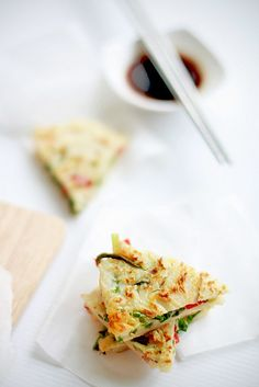 Pajeon 파전 by bossacafez, via Flickr