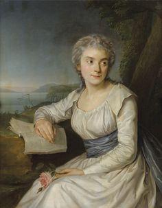Adélaïde Labille-Guiard   Portrait of la Contesse de Lameth 1790s   Sotheby's