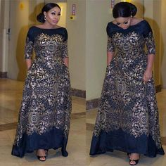 These are latest Aso Ebi Styles you can rock to the next wedding you'll be attending. African Attire, African Wear, African Women, African Dress, African Inspired Fashion, African Fashion Dresses, Nigerian Fashion, Style Africain, Nigerian Lace