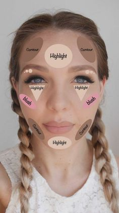 DIY Tips, Tricks, And Beauty Hacks Every Girl … Super easy Contouring Hack Sheet. DIY Tips, Tricks, And Beauty Hacks Every Girl Should Know. For Teens .Super easy Contouring Hack Sheet: Tap the link now to find the hottest products for Better Beauty! Easy Contouring, Contouring And Highlighting, Contouring Makeup, Strobing, Contouring Guide, Contouring Products, Light Contouring, Contouring Round Face, What Is Contouring