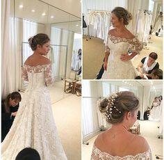 vestido de casamento noiva penteado fernanda souza thiaguinho martha medeiros