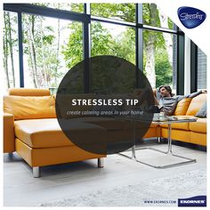#StresslessTip: Having a special, stress-free zone in your home that you find relaxing can quickly ease the anxiety from your day. #NationalStressAwarenessDay