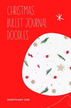 Christmas Bullet Journal Doodles - Fun and festive drawings for your planner or bujo Red And Gold Christmas Tree, Colorful Christmas Tree, Natural Christmas, Simple Christmas, Doodle Drawings, Doodle Art, Doodle Ideas, Christmas Doodles, Drawing For Beginners