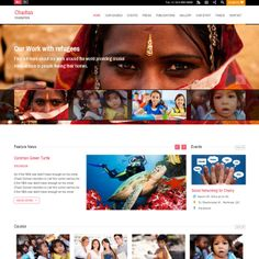Charitas WordPress Theme for Foundation Websites | Best WordPress Themes 2014