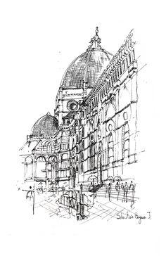The Importance of Sketches as a Form of Representation,Florence Cathedral (Duomo) / Florence. Image © Sebastián Bayona Jaramillo