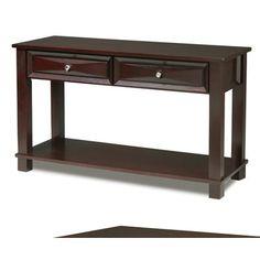 Buy Steve Silver Mason 48x18 Sofa Table in Dark Cherry on sale online