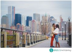 Engagement Liberty State Park, NJ NYC Photo by: Gricel's Photography www.gricelsphotography.com