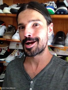 Tomo Milicevic's photo: DECISIONS DECISIONS DECISIONS... 2012 HOMIE NEEDS SOME NEW SHIT KICKERS