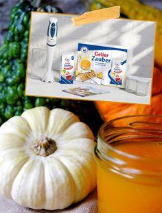 Rezept: Herbstliche Orangen Kürbis Marmelade selbst gemacht | Gewinnset Gelierzauber | waseigenes.com