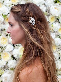 Three Gorgeous Hairstyles for Cool Brides-to-Be: Learn how to recreate this braid in four easy steps...   allure.com