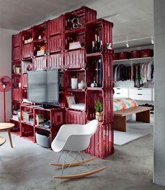 decor high low   DIY furniture + Eames chair #decor #hi-lo #highlow #DIY #crates