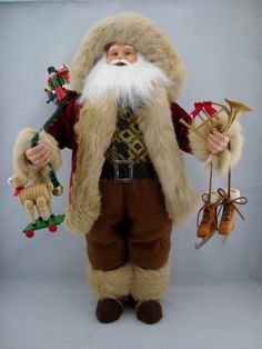 "Joyful Santa - Santa Claus Doll- 24"" - pinned by pin4etsy.com"