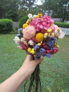 Ready to ship Bridal Bouquet with Naturally by TheCoralBoutique, $65.00