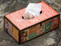 MDF Tissue Box!