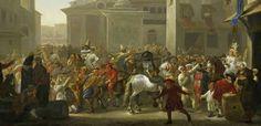 Carnaval in Rome door Johannes Lingelbach (1622-1674)