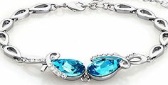 Neoglory Jewellery Neoglory® Eternal Love SWAROVSKI® Elements Aquamarine Crystal Teardrop Charm Bracelet for Women 7 in No description http://www.comparestoreprices.co.uk/december-2016-week-1/neoglory-jewellery-neoglory®-eternal-love-swarovski®-elements-aquamarine-crystal-teardrop-charm-bracelet-for-women-7-in.asp