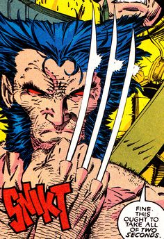X-Men #6 - Wolverine (March 1992) by Jim Lee