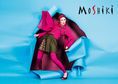 inspire yourself #colour #moshiki #blue #pink #wrapskirt #button #love #fashion #skirt #individual #cotton #patchwork