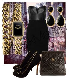 """""""Clean"""" by musikmaven on Polyvore featuring Chanel, Mason by Michelle Mason, toosis and Louis Vuitton"""