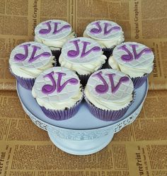 Blueberry cupcackes